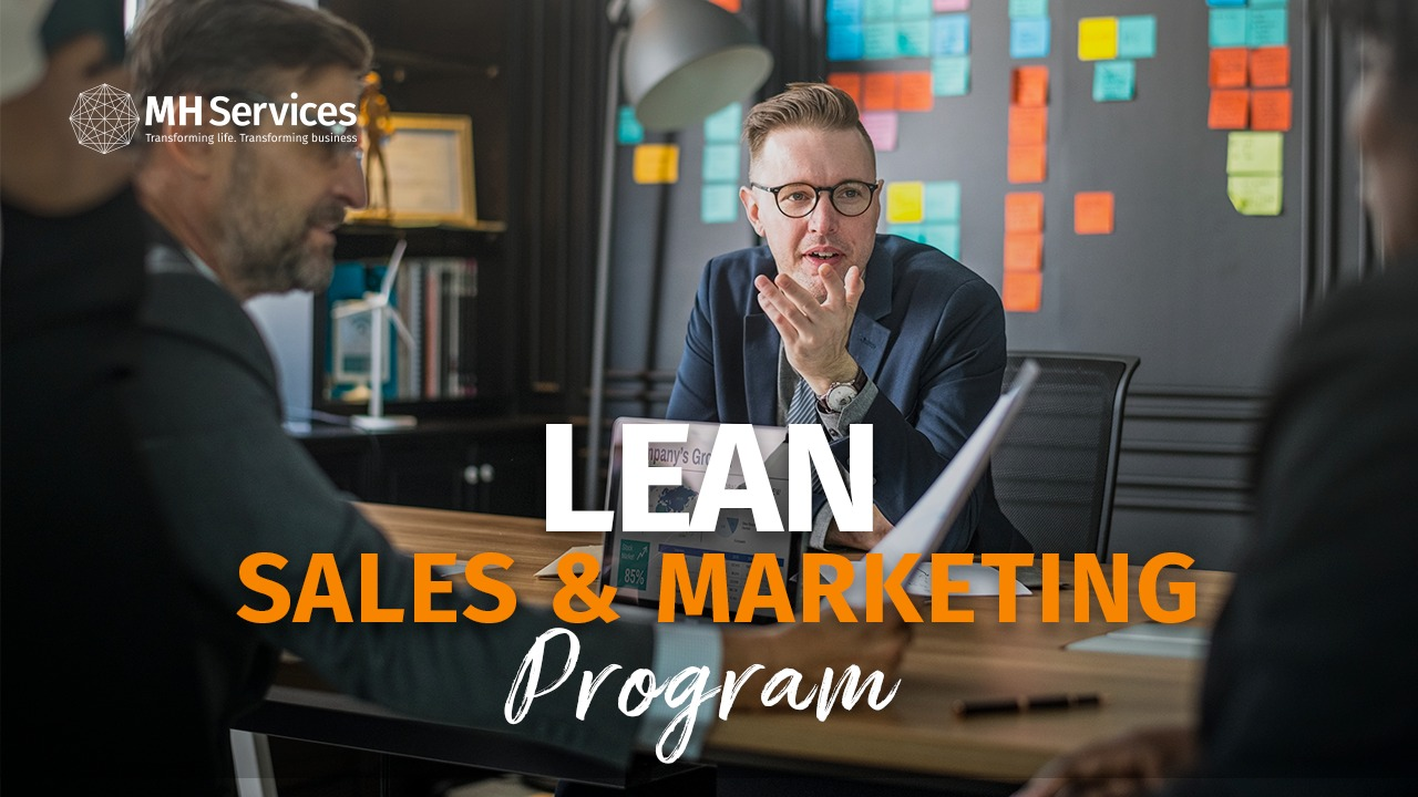 lean sales and marketing program